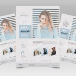 Fashion Sale Free PSD Flyer Template