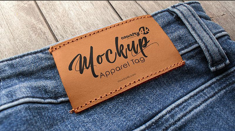 Free Apparel Tag Mockups
