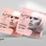 Hair Salon & Beauty Free PSD Flyer Template