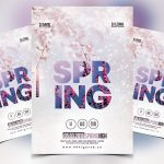 Spring Vibe Free PSD Flyer Template