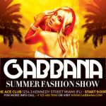 Summer Fashion Show Free PSD Flyer Template
