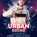 Urban Party #2 Free PSD Flyer Template