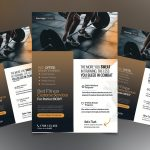 Fitness And Gym #2 Free PSD Flyer Template
