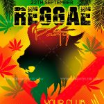 Reggae Party Free PSD Flyer Template