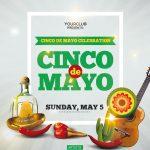 Cinco de Mayo Free PSD Flyer Template