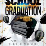 School Graduation Free PSD Flyer Template
