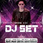 DJ Set Event Free PSD Flyer Template