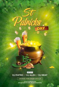 St. Patricks Day Free PSD Flyer Template