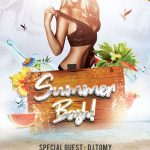 Summer Bash Free PSD Flyer Template