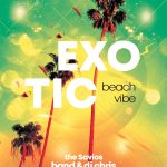 Exotic Summer Free PSD Flyer Template