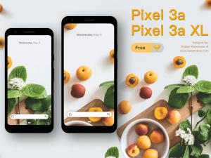Google Pixel 3a & 3a XL Free Mockups