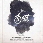 Night Beat Party Free PSD Flyer Template