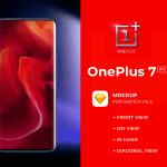 OnePlus 7 Pro Free PSD Mockup