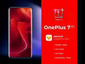 OnePlus 7 Pro Free Mockup