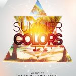 Summer Colors Free PSD Flyer Template