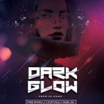 EDM Dark Glow Free PSD Flyer Template