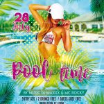 Pool Time Free PSD Flyer Template