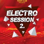 Electro Club Vol. 2 Free PSD Flyer Template