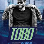 Club DJ Artist Free PSD Flyer Template