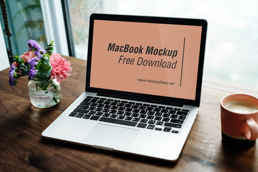 Macbook Pro Free PSD Mockup