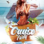 Cruise Party Free PSD Flyer Template