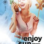 Enjoy The Sun Free PSD Flyer Template