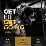 Health Fitness Club Free PSD Flyer Templates