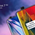 One Plus 7 Pro Free PSD Mockup