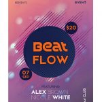 Beat Flow Free PSD Flyer Template