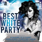 Best White Party Free PSD Flyer Template