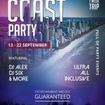 Coast Party Free PSD Flyer Template