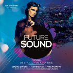 Future Sound Instagram Free PSD Template