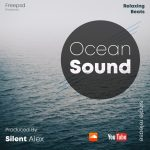 Ocean Sound Free PSD Mixtape Cover Template