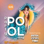 Pool Party Day Free PSD Flyer Template