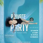 Private Party Free PSD Flyer Template