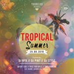Summer Tropical Instagram Free PSD Template