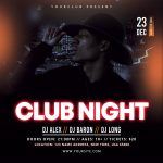 Night Club #2 Free PSD Flyer Template