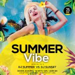 Summer Vibe #2 Free PSD Flyer Template