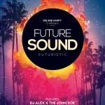 Future Sound Free PSD Flyer Template