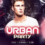 Urban Party #3 Free PSD Flyer Template