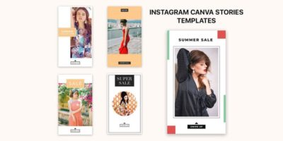 5 Free Instagram Canva Stories Templates