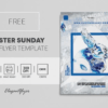 Easter Weekend Free PSD Flyer Template
