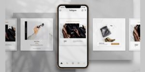 Free Promo Instagram Post PSD Template