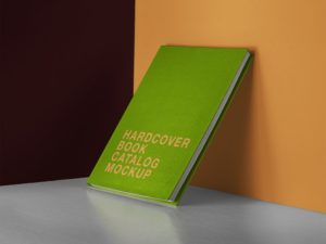 Hardcover Catalog/Book Free Mockup