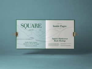 Open Square Catalog Free Mockup