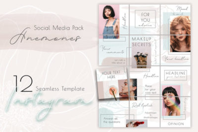 Puzzle - Free Instagram Template in PSD