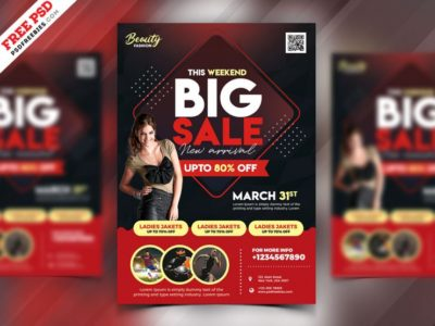 Special Offer Sale Free PSD Flyer Template