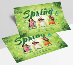 Spring Day – Free Event PSD Flyer Template