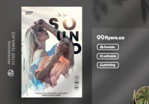 Vibe Events – Clean PSD Free Flyer Template