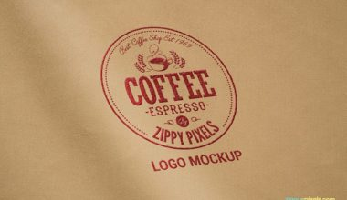 5 Free Logo Mockup Collection
